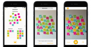 Post it Plus 1 0 for iOS iPhone screenshot 002 300x156 Post it chega a era digital