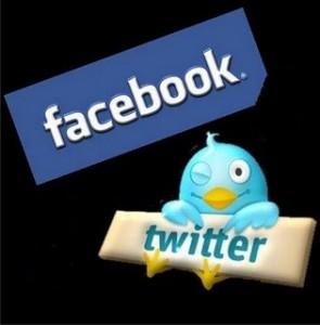 facebook e twitter 295x300 Facebook fez oferta pelo Twitter